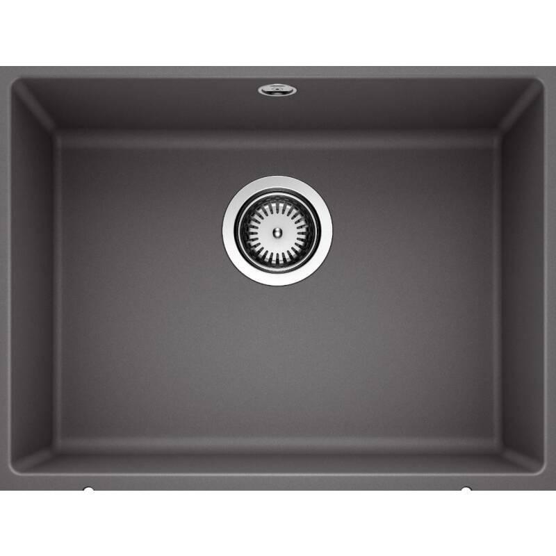 370x500 Samos 1.0 Bowl Composite U/mount Rock Grey primary image