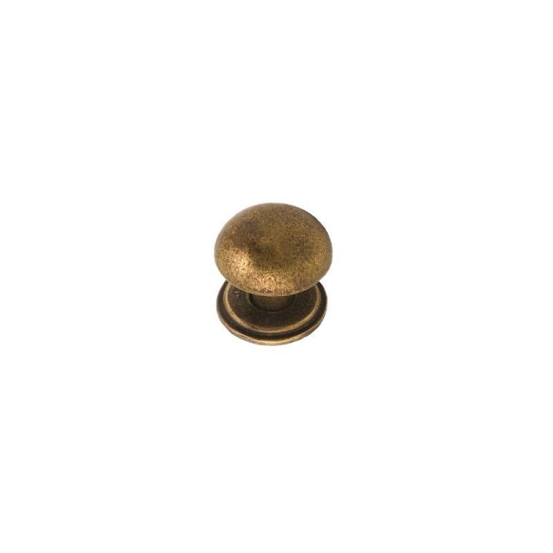 38mm Chloe Aged Brass Knob Handle primary image