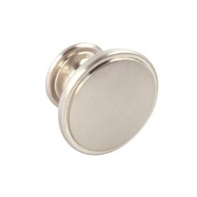 38mm Evie Brushed Nickel Knob Handle