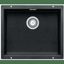 400x500 Bali 1.0 Bowl Composite U/mount Black