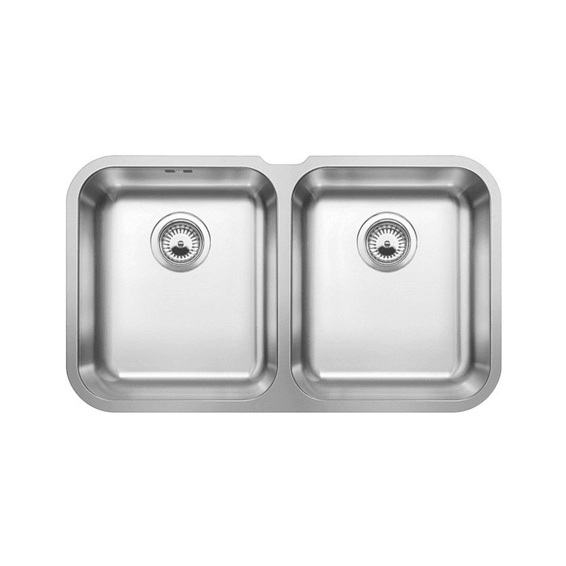 400x715 Ecuador Double Bowl U/mount Stainless Steel primary image