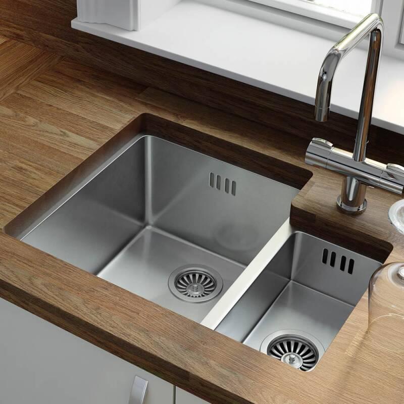 430x558 Foss 1.5 Bowl RHD S/Steel additional image 1