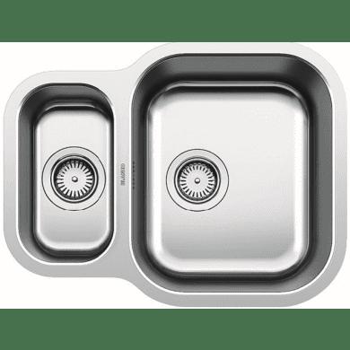 430x582 Ecuador 1.5 Bowl RVS U/mount Stainless Steel