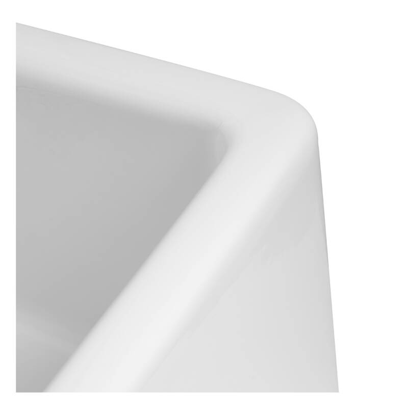 455x595 Langdale Deep Ceramic Belfast 1.0 Bowl White additional image 3