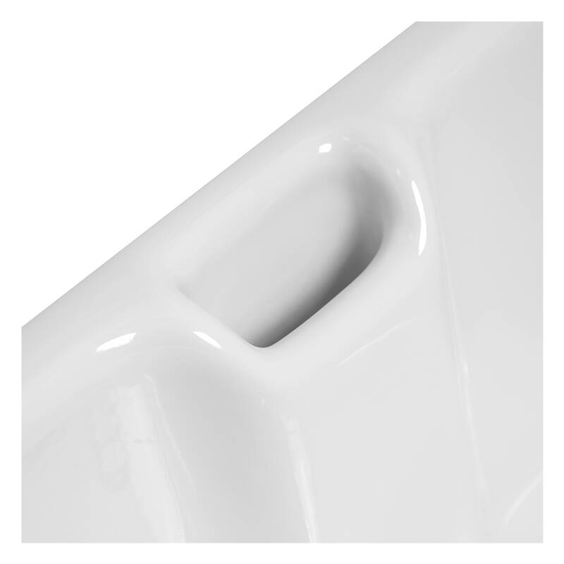 455x595 Langdale Deep Ceramic Belfast 1.0 Bowl White additional image 5