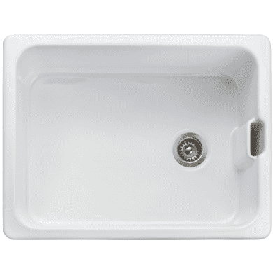 455x595 Lona Ceramic Belfast 1.0 Bowl White