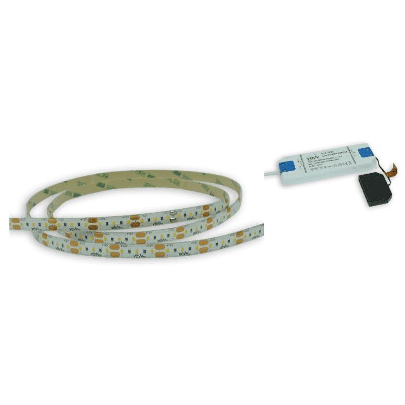 4M 4.8w LED Flexible Strip Light Inc Driver primary image