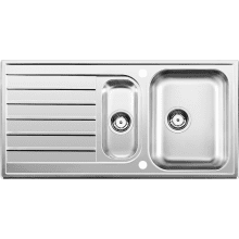 500x1000 Eday 1.5 Bowl RVS Stainless Steel