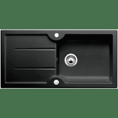 500x1000 Montague 1.0 Bowl RVS Ceramic Black