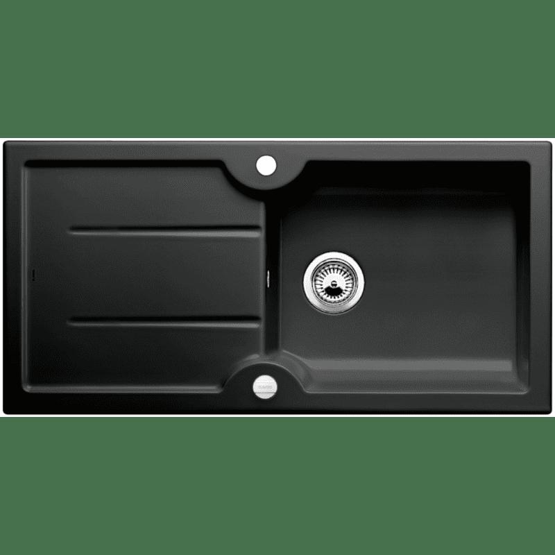 500x1000 Montague 1.0 Bowl RVS Ceramic Black primary image