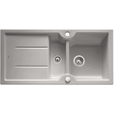 500x1000 Montague 1.5 Bowl RVS Ceramic Grey