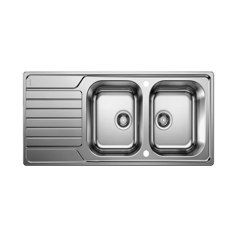 500x1160 Andros 2 Bowl RVS Stainless Steel primary image