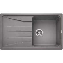 500x860 Minorca Composite 1.0 Bowl RVS Grey