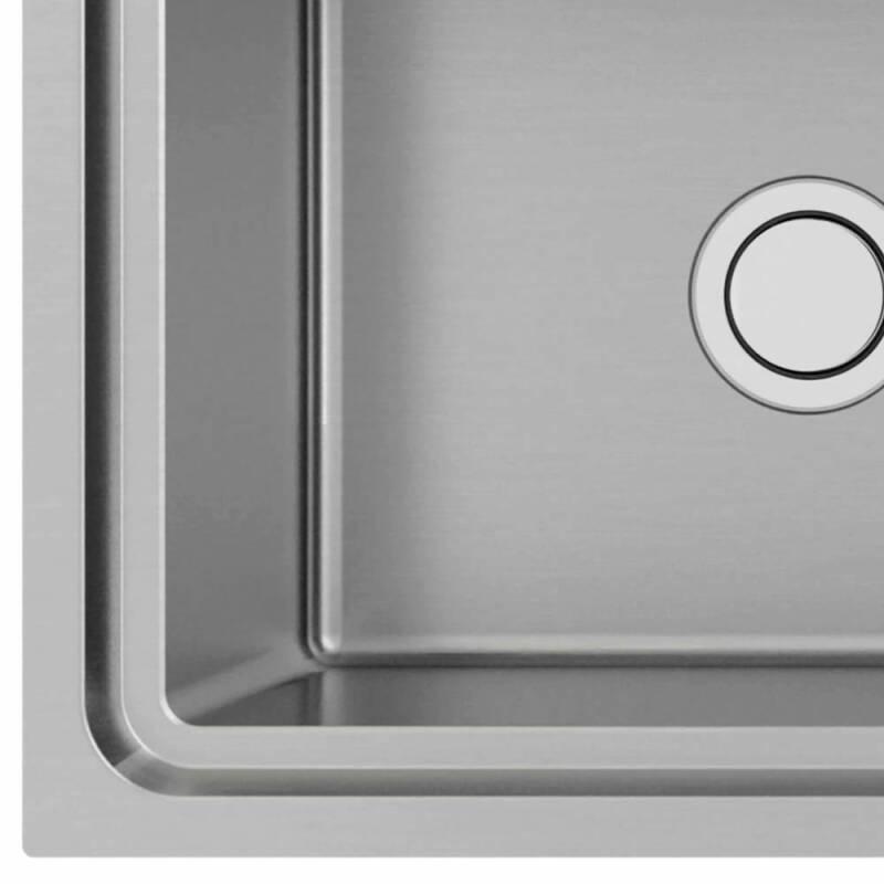 510x1000 Hudson 1.0 Bowl Sink RHD S/Steel additional image 1