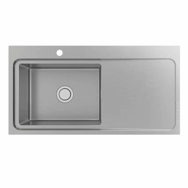 510x1000 Hudson 1.0 Bowl Sink RHD S/Steel primary image