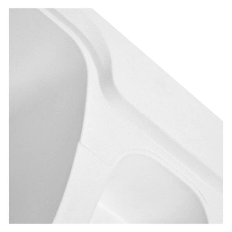 510x980 Super Bowl Composite 1.5 Bowl RVS Super White additional image 4