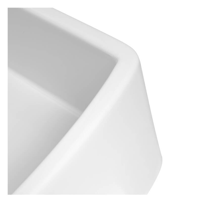595x665 Easedale Ceramic Bow Fronted Belfast Sink additional image 6