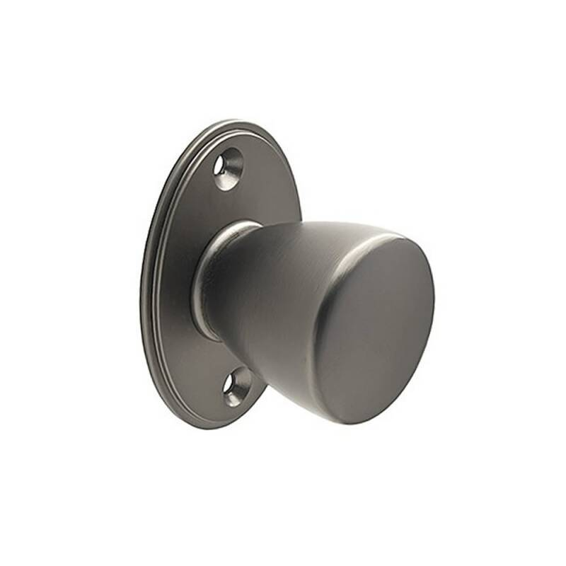 59mm Lois Round Black Satin Knob Handle primary image