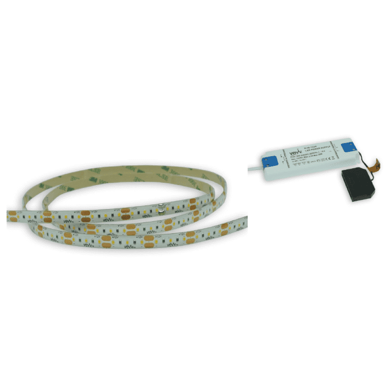 5M 4.8w LED Flexible Strip Light Inc Driver primary image