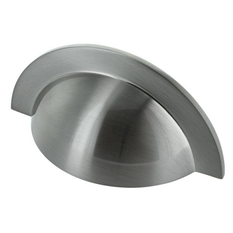 64x104mm Maisie Brushed Nickle Cup Handle primary image
