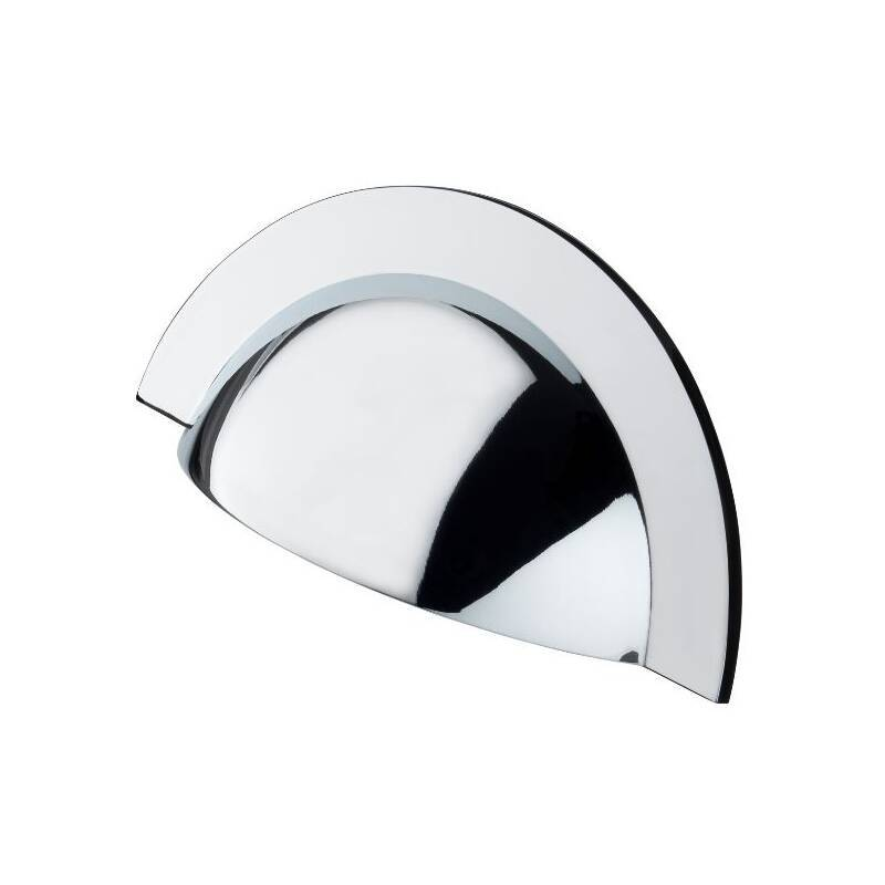 64x104mm Maisie Chrome Cup Handle primary image