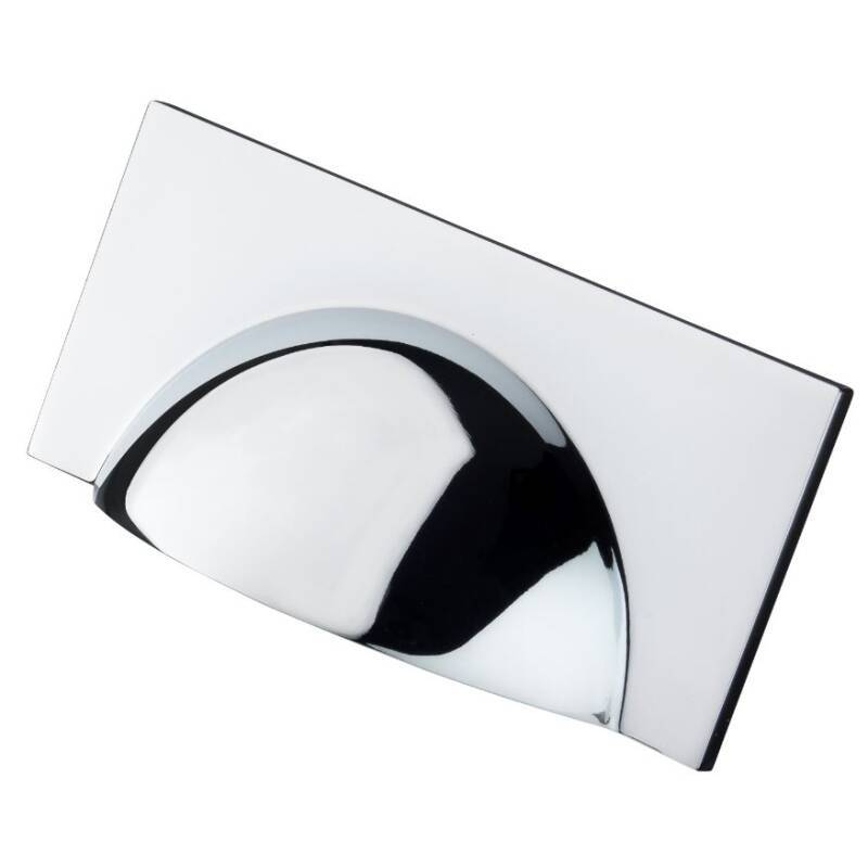 64x104mm Mira Chrome Cup Handle primary image