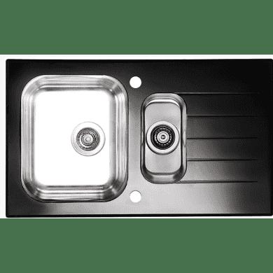 860x500 Alveus 1.5 Bowl RVS Black Glass