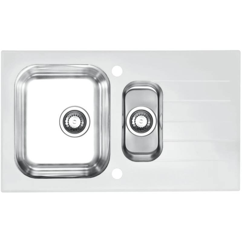 860x500 Alveus 1.5 Bowl RVS White Glass primary image