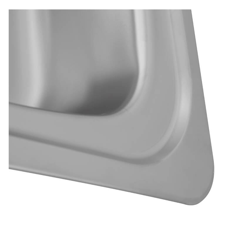 935x485 Tudor LHD S/Steel Sink and Lever Pillar Tap Pack additional image 2