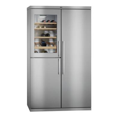AEG H1855xW1080xD583 Perfect Fit Fridge Freezer with Wine Cooler