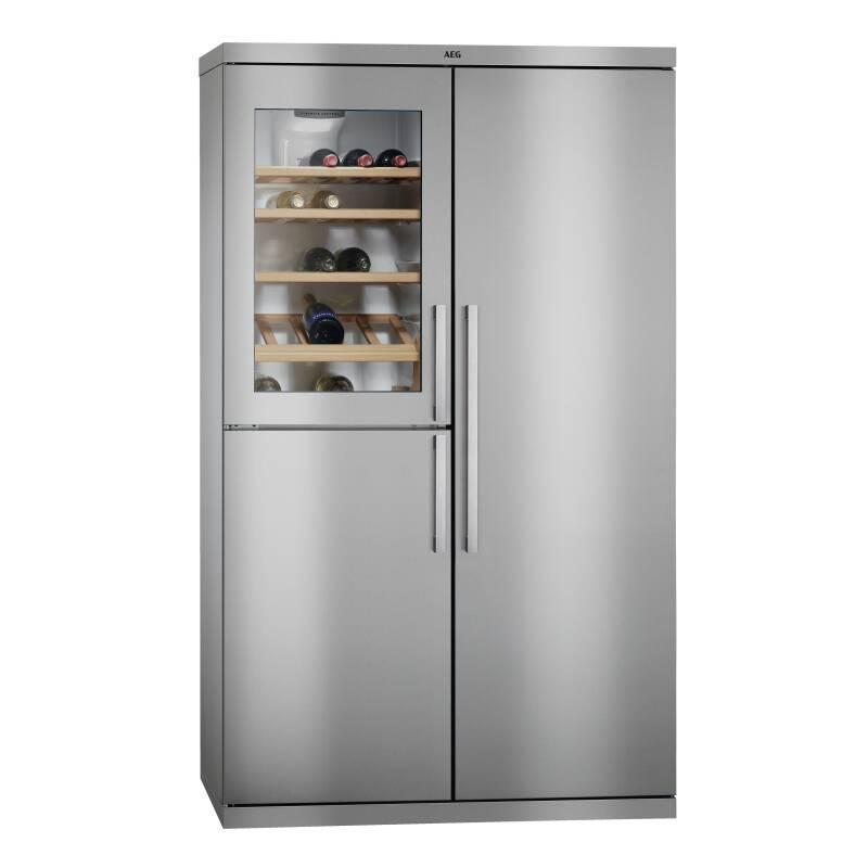 AEG H1855xW1080xD583 Perfect Fit Fridge Freezer with Wine Cooler primary image