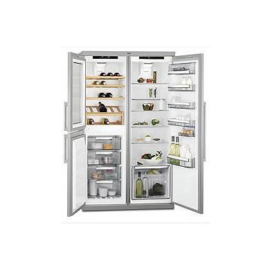 AEG H1855xW1090xD583 PerfektFit Fridge Freezer with Wine Cooler