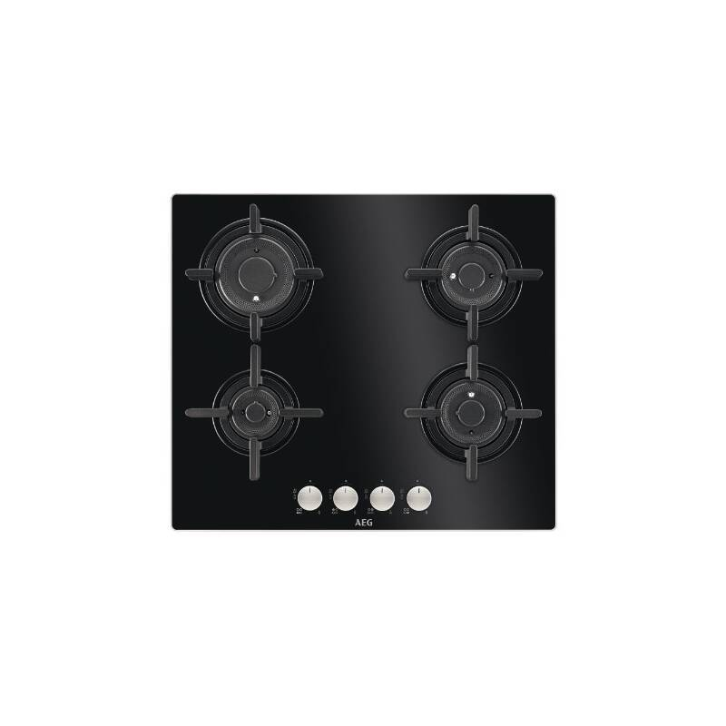 AEG H30xW590xD520 4 Burner Gas on Glass Hob With Vertical Flame primary image
