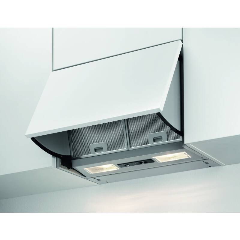 AEG H400xW598xD270 Integrated Hood - Stainless Steel primary image