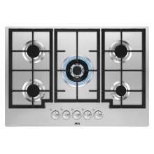 AEG H41xW745xD515 5 Burner Gas Hob - Stainless Steel