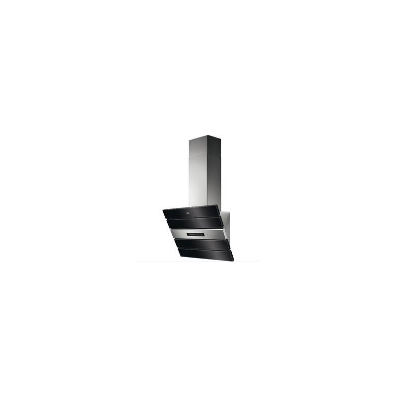 AEG H423xW598xD326 Screen Hood Black Glass primary image