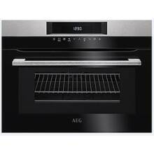 AEG H455xW594xD567 Compact Combi Microwave