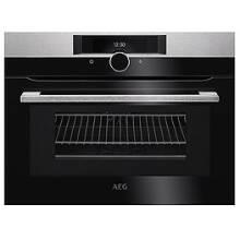 AEG H455xW594xD567 Compact Combination Microwave