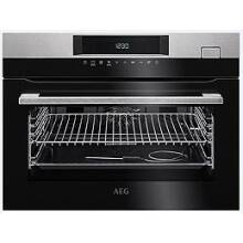 AEG H455xW594xD567 Single Compact Oven With Steam