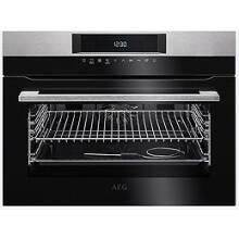 AEG H455xW594xD567 Single Pyrolytic Compact Oven
