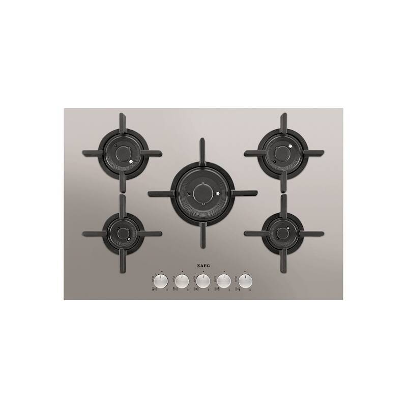 AEG H45xW740xD510 Gas 5 Burner Hob - Stainless Steel primary image