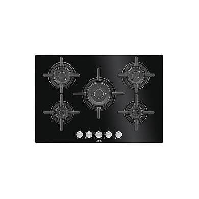 AEG H45xW740xD510 Gas on Glass Hob