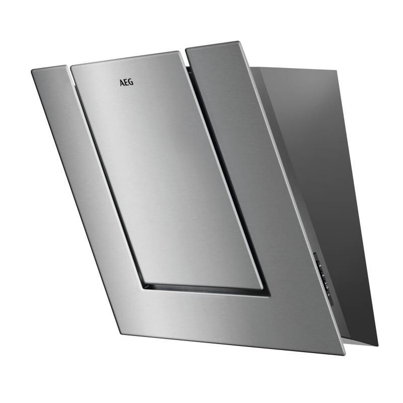 AEG H516xW550xD335 Angled Chimney Cooker Hood - Stainless Steel primary image