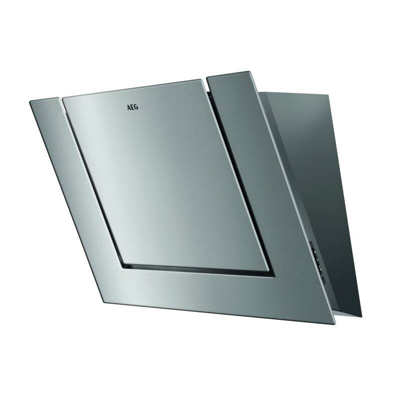 AEG H516xW800xD335 Angled Chimney Cooker Hood - Stainless Steel primary image