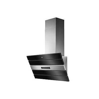 AEG H561x800x327 Black Glass Chimney Hood