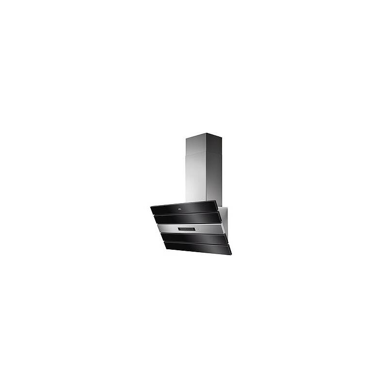 AEG H561x800x327 Black Glass Chimney Hood primary image
