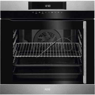 AEG H594xW594xD567 Single Oven (LH Hinge)