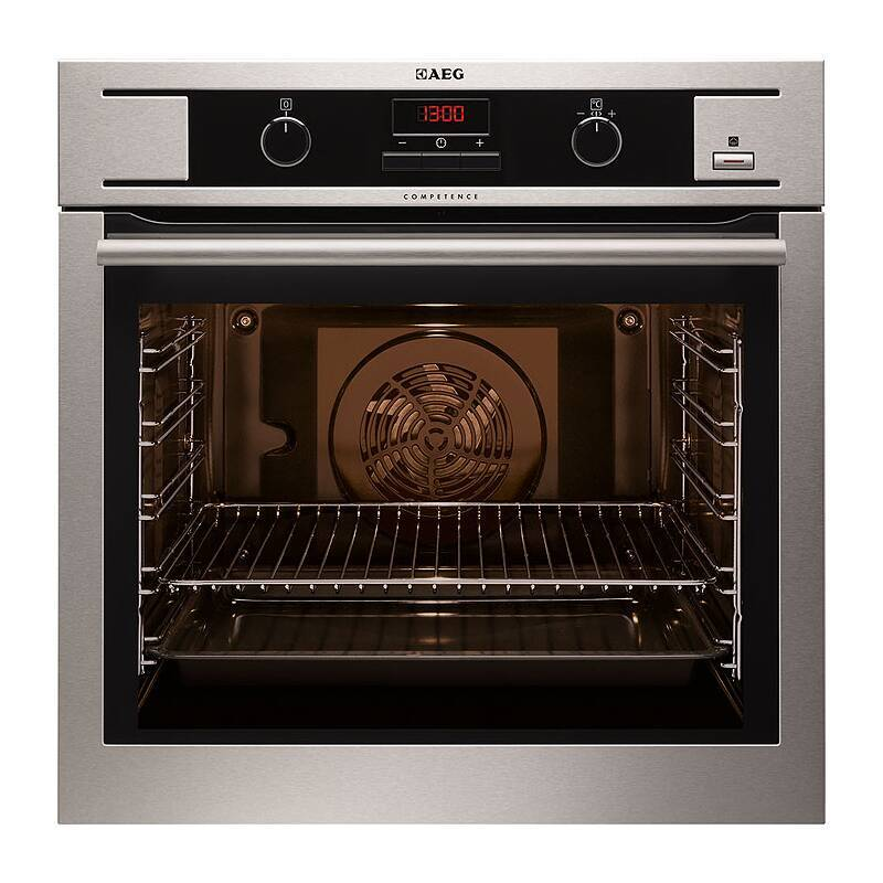AEG H594xW594xD568 Single Multi-Function Oven - Stainless Steel primary image