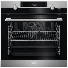 AEG H594xW595xD567 Single Pyrolytic Oven with SteamBake