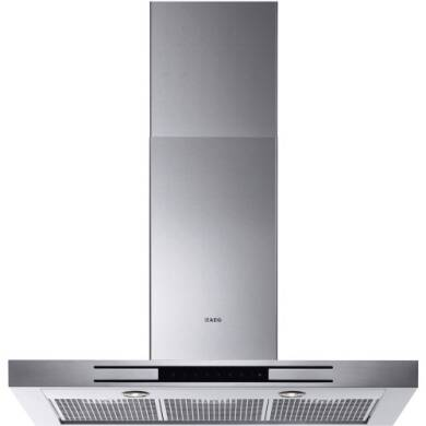 AEG H60xW898xD470 Chimney Box Hood - Stainless Steel